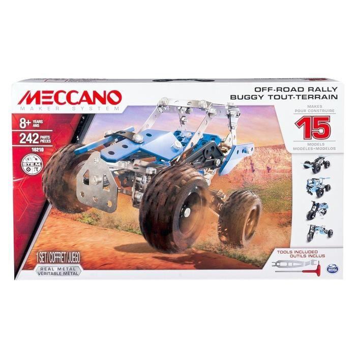 MECCANO Buggy - 15 Modèles - Jeu de construction
