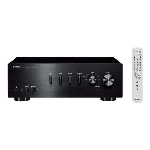 YAMAHA A-S301 Amplificateur Hi-Fi Noir