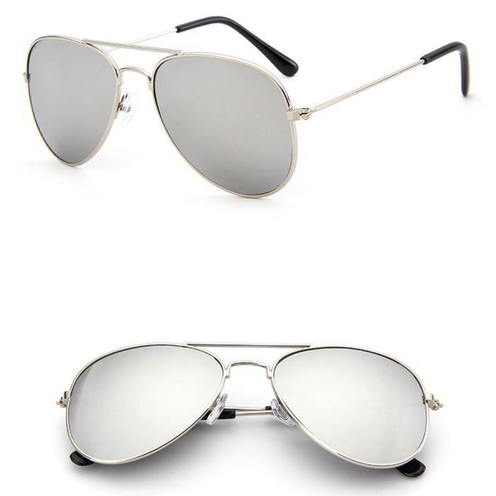72c62a3079f64f Enfants lunettes de soleil à la mode pilote aviateur enfants pour les  filles garçons UV400 certifié CE zsy443