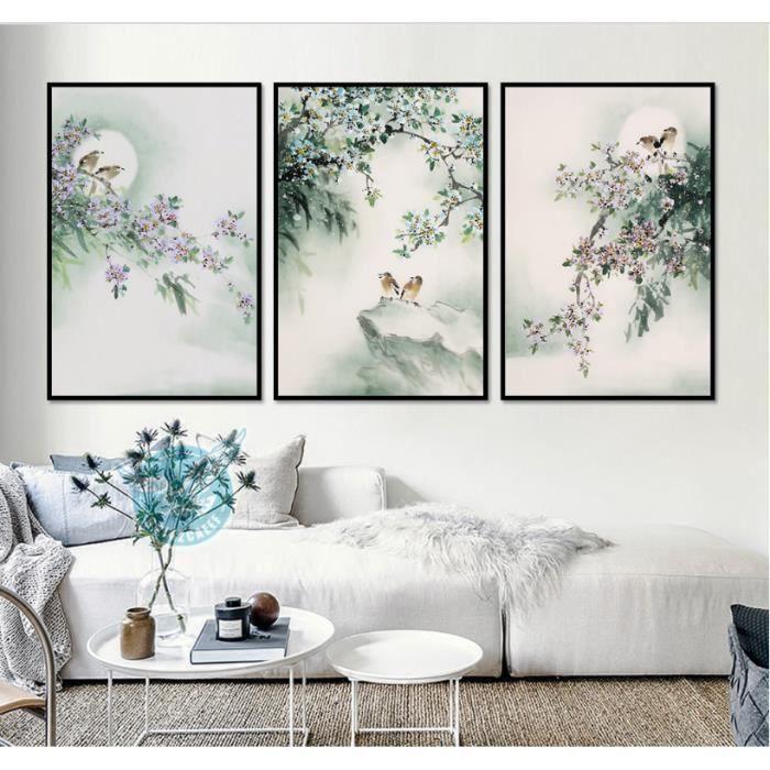 Nouvelle peinture à l\'encre chinoise peinture oiseau peinture ...