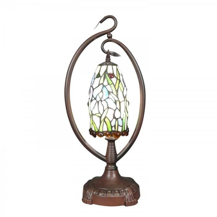 Lampe tiffany suspendue achat vente lampe tiffany for Lampe suspendue