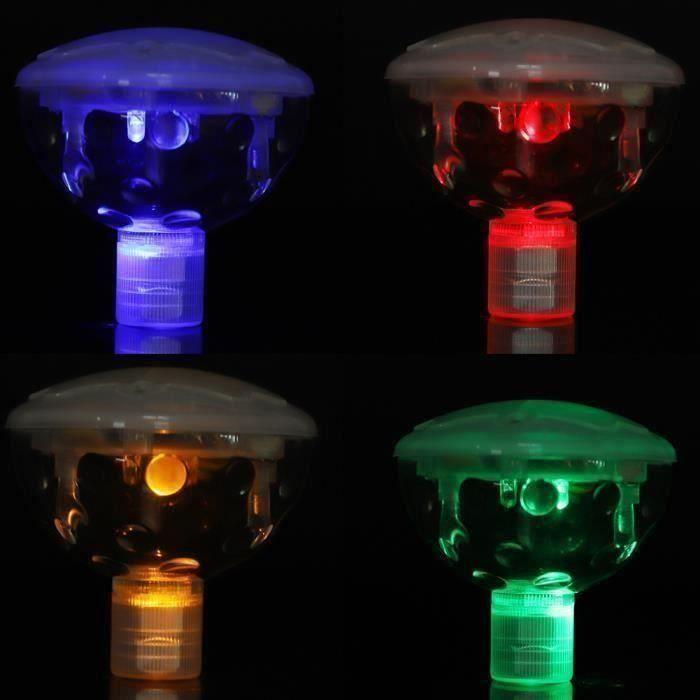PROJECTEUR - LAMPE Lampe flottante LED RVB Lumière sous-marine lumina