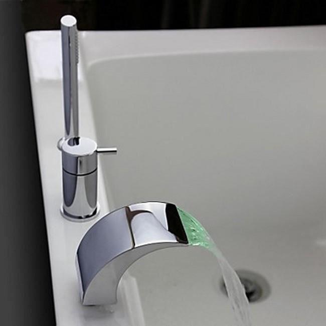 Moderne Robinet de baignoire style cascade encastrable - Achat / Vente AI-88