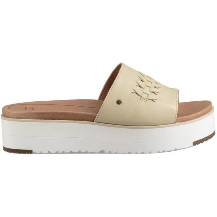 ugg sandales femme beige