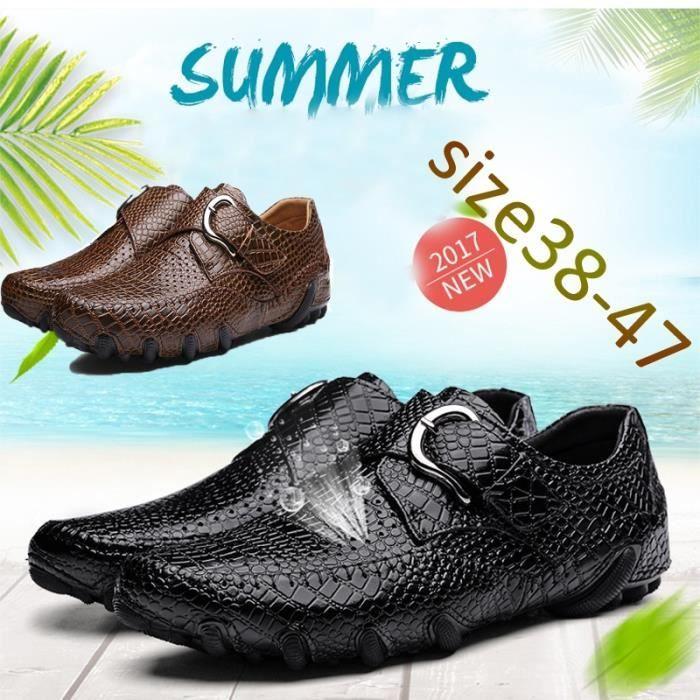 baskets hommes perméable à l'air Chaussures en coton Confortable Chaussures de course homme Antidérapant Grand dssx400gray47 MxHefxjo