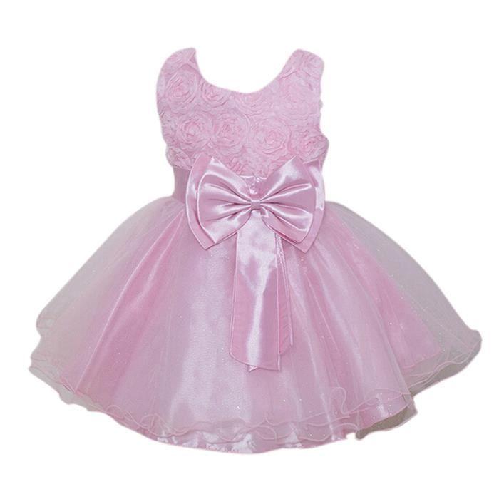 5d561b4bdd8c3 Robe des filles enfants du style de princesse pour la fete d ...