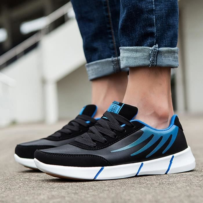 noir Bout rondlacer taille39 bleu Homme Skater Skateshoes xq0ZIn