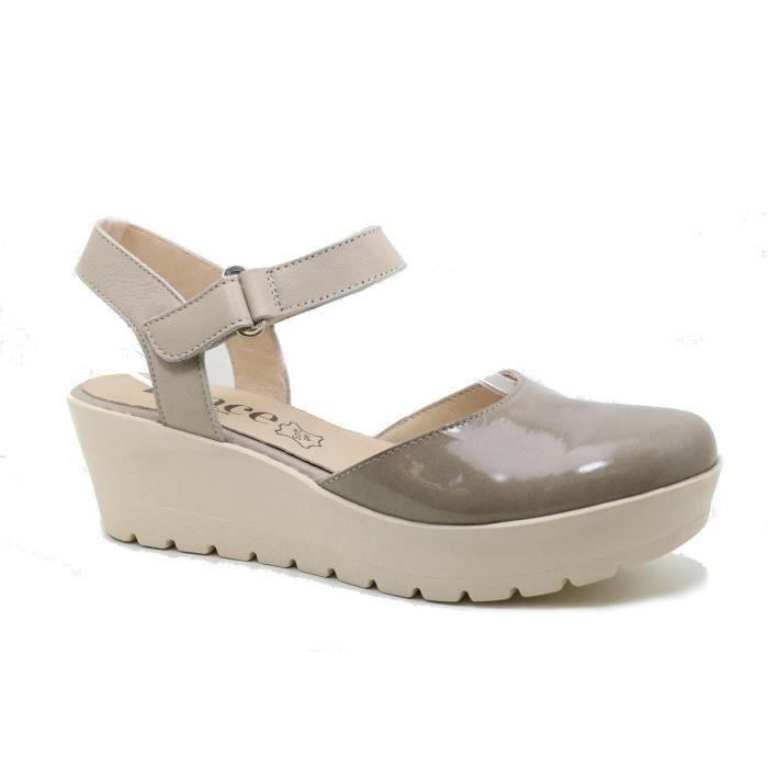 Lince 73512 marron - Chaussures Sandale Femme