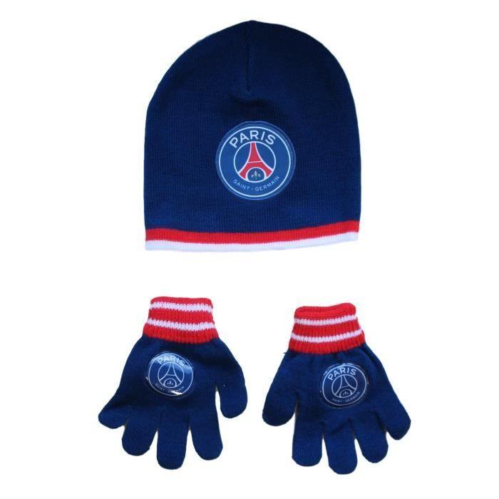 d8b8d5b4a20c Bonnet enfant PSG gant paris saint germain Neymar Article sous licence  officielle
