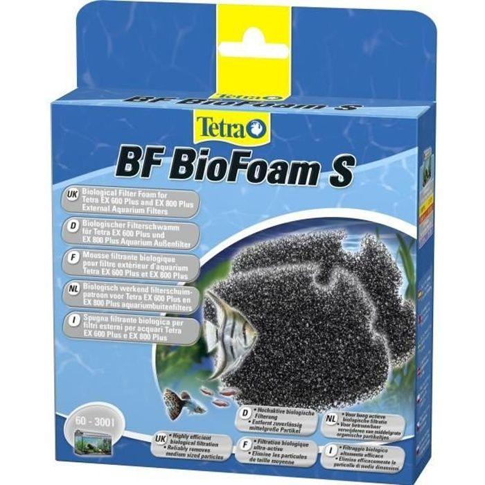 Tetra La Mousse Filtrante Biologique Pour Filtre D'aquarium Externe Ex 400, 600 Et 800 - 2 Pièces