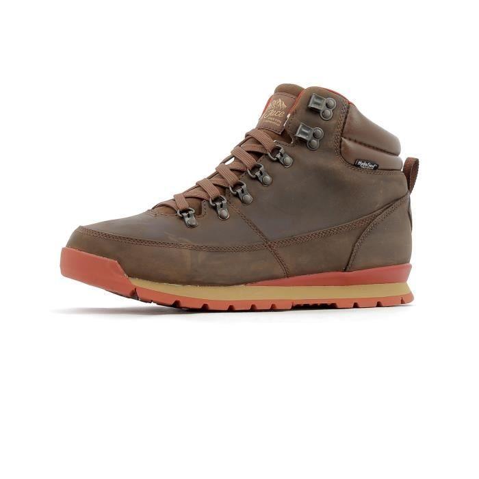 Chaussure de randonnée en cuir The North Face BACK-TO-BERKELEY REDUX LEATHER BOOTS