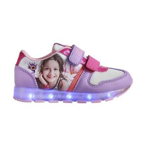 Soy Luna de Disney chaussons roses taille 33/34 SYl6KB