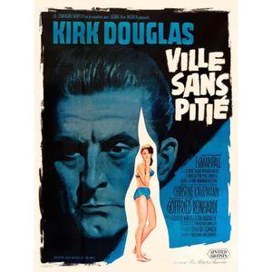 AFFICHE - POSTER VILLE SANS PITIE K Douglas reproduction affiche de