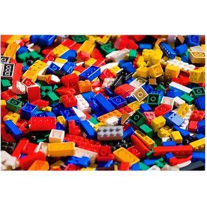 ASSEMBLAGE CONSTRUCTION Briques en vrac QBricks Compatible Lego - 500 gram