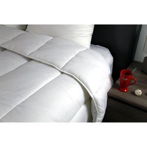 COUETTE Dodo Niagara Couette, Polyester, Blanc, 240x220 cm