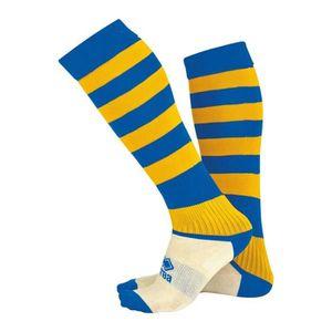CHAUSSETTES FOOTBALL Chaussettes Montantes Errea Zone - bleu-jaune - Ju