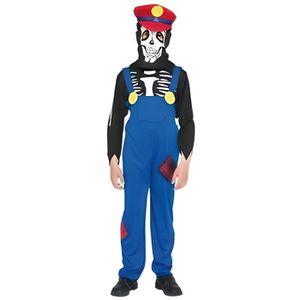 ACCESSOIRE DÉGUISEMENT Deguisement Super Mario Squelette - Le Plombier -