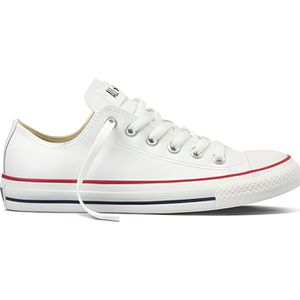 BASKET Chuck Taylor Core Leather Ox Cha… BLANC