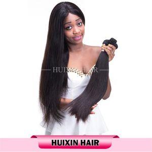 PERRUQUE - POSTICHE 3pcs beaucoup niveau 6a noir naturel droit coiffur