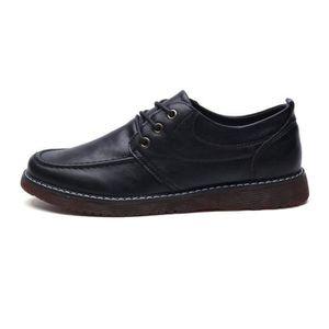DERBY Chaussures DéTente Homme Un Amorti Respirant Couri