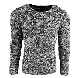 c3461cdf43fb PULL Subliminal Mode - Pull homme col rond - Tricot gro