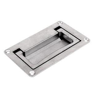 BLOQUE PORTE - POIGNÉE sourcingmap® Porte Tiroir 11 x 7 cm, mécanisme cou