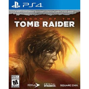 JEU PS4 Shadow of the Tomb Raider Croft Edition