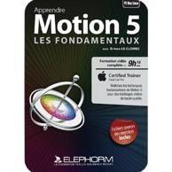 Apprendre Motion 5 - les fondamentaux