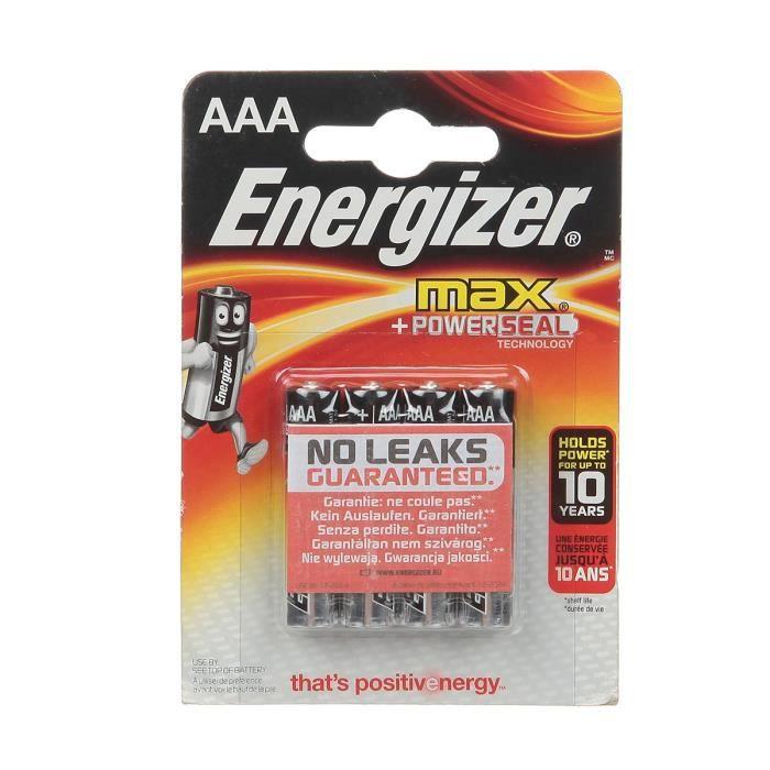 ENERGIZER Piles Alcaline Ultra + - AAA