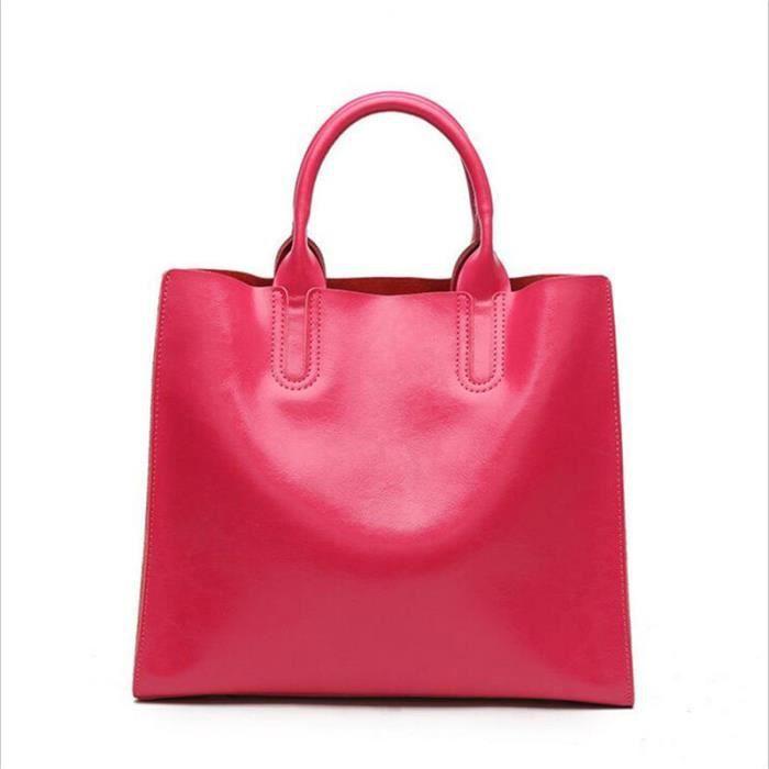 sac à main femme rose sac femme de marque sac cuir femme Haut qualité Sac Femme De Marque De Luxe En Cuir sac à main femme 2017