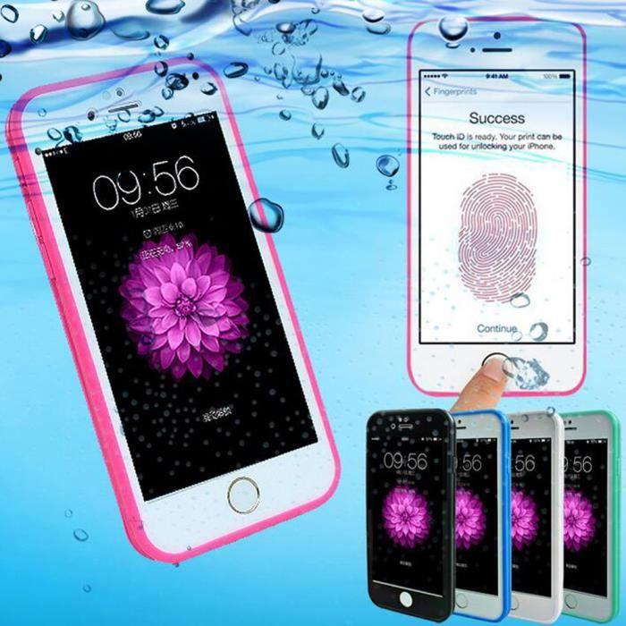coque iphone 6 slim rose