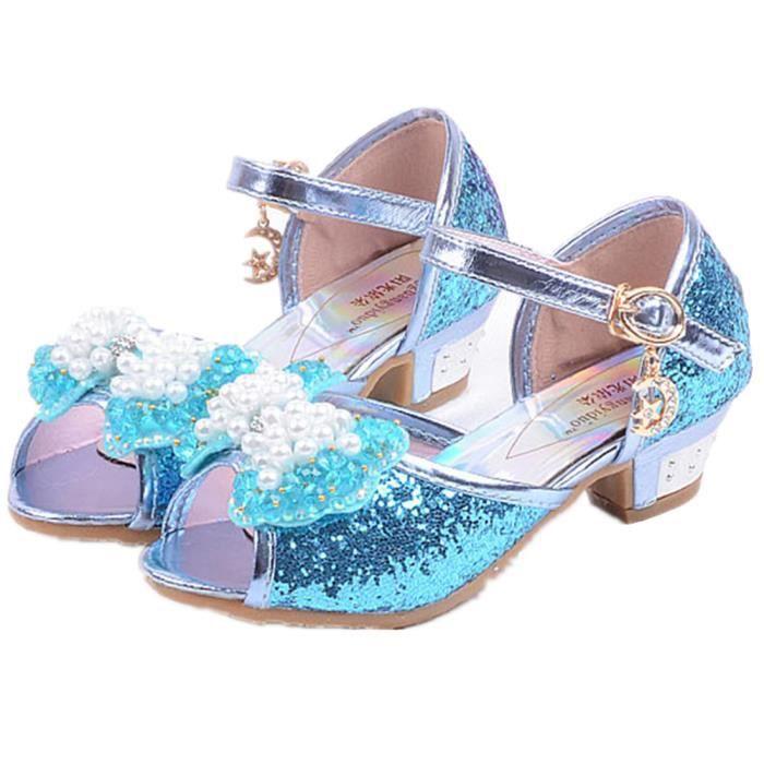 13b164006e889 chaussure princesse bleu