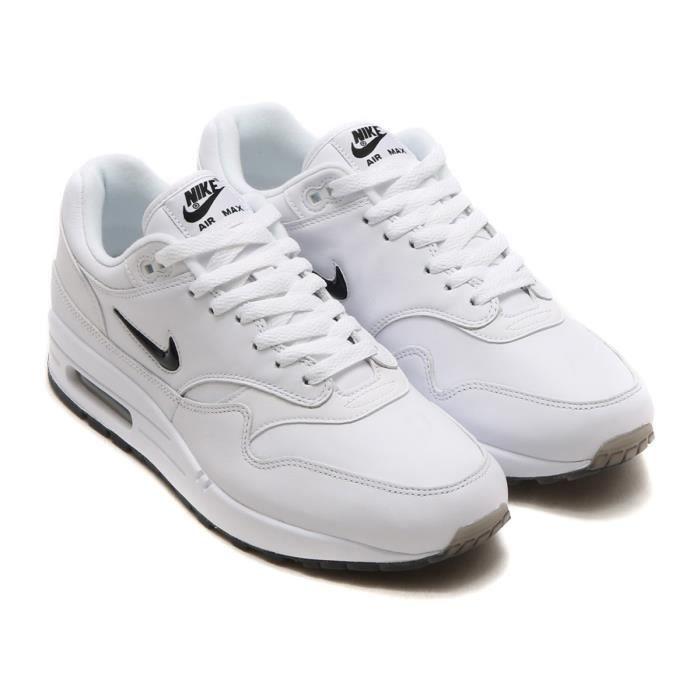 c50f9d08c32b Baskets Nike Sportswear Air Max 1 Premium SC Chaussures homme Blanc Noir