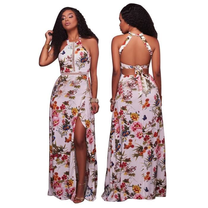 Femmes Robes Nouvelle Mode Collier V 3D Impression Robe En vrac Courroies ceinture Vetements Grande Taille S-XL
