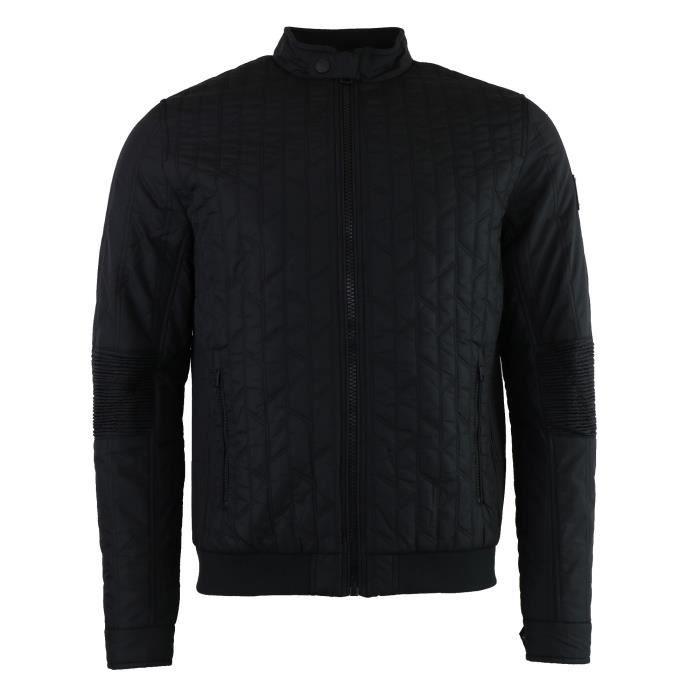 Calvin Klein Jeans veste noir matelassé Homme (Noir - M) Noir Noir ... efa72c7a6b6