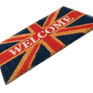 Paillasson drapeau anglais achat vente pas cher - Paillasson en anglais ...
