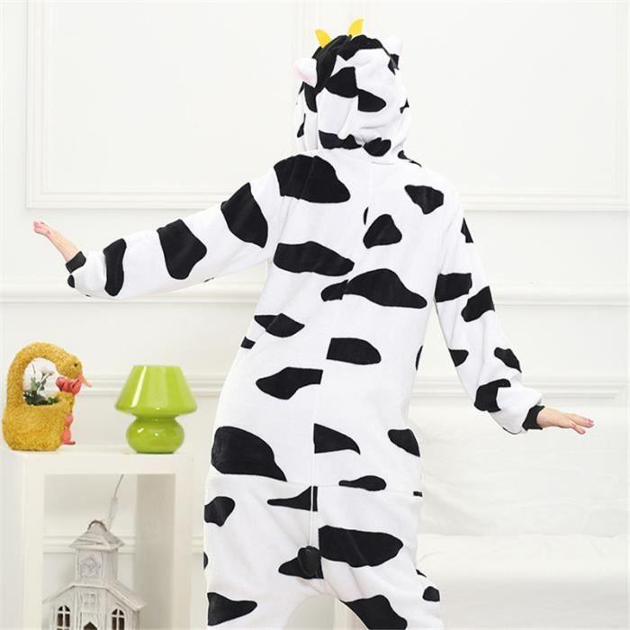 Kigurumi 100 Vaches Enfant fz015blanc Garçon Bcht Cosplay Animé Hiver Pyjama Fille OvgqwYY0