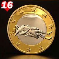 PROTÈGE COINS-ARRETES 1 Pc Sex 6 Euro Coins Different Position dur Coins