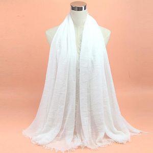 f0cf0ed4f6c ECHARPE - FOULARD Premium viscose maxi pli Cloud hijab écharpe châle