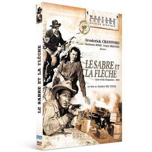 DVD FILM Le sabre et la flèche : Broderick Crawford, Barbar