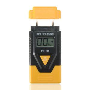 INDICATEUR D'HUMIDITE 3 en 1 bois Humidimètre Digital LCD Humidité Détec