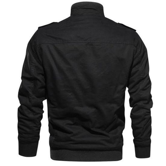 De Vêtements Épaissie Cachemire Outwear Tactique Militaire Poche Hommes Manteau D'hiver qBxZBwFryt