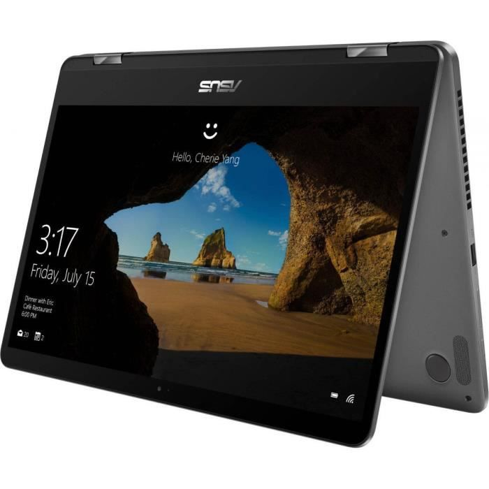 """ASUS Ordinateur Portable - Asus ZenBook Flip 14 UX461FA-E1055R - Écran tactile (14"""") - Core i5"""