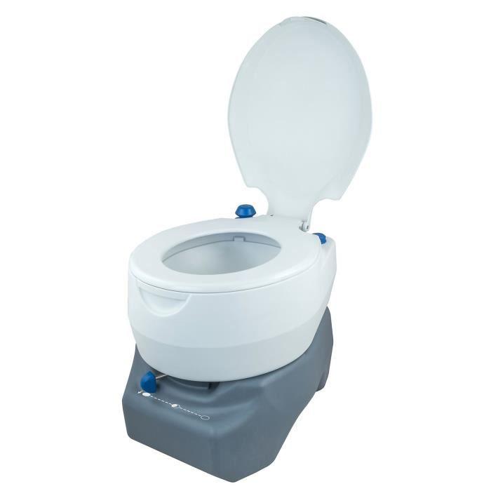 Système de fixation ultra solide - Système anti fuites - Résistant, utilisation et nettoyage facileWC - TOILETTES