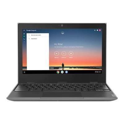 LENOVO Chromebook 100e (2nd Gen) 81MA - Celeron N4000 / 1.1 GHz - Chrome OS - 4 Go RAM - 32 Go eMMC