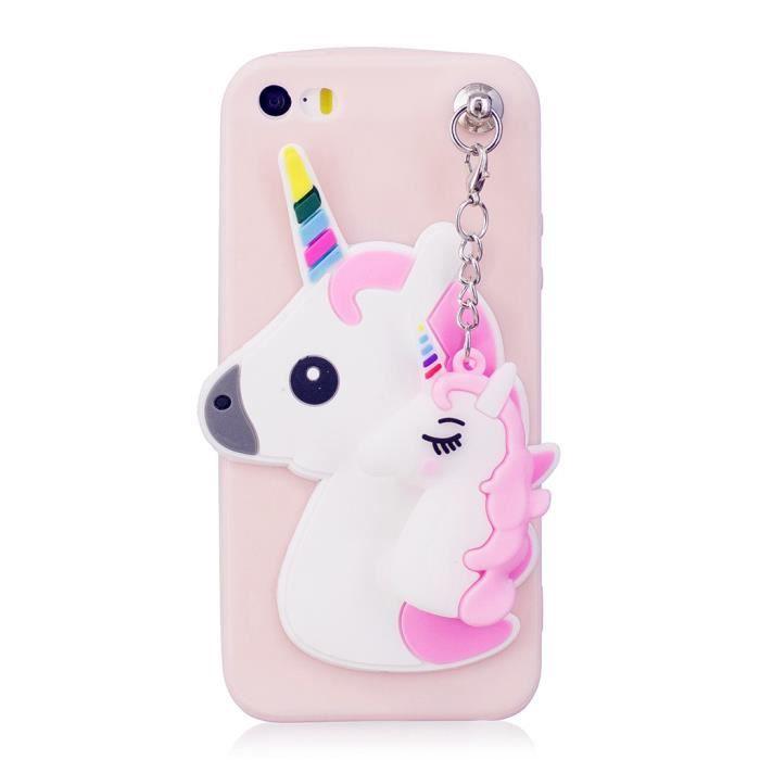 licorne coque iphone 5