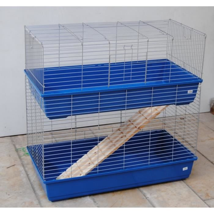 cage du cochons d 39 inde lapins cage double 1 m achat. Black Bedroom Furniture Sets. Home Design Ideas