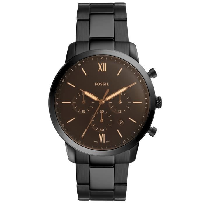 Cher Homme Vente Fossil Chronographe Pas Montre Achat Y7fgb6y