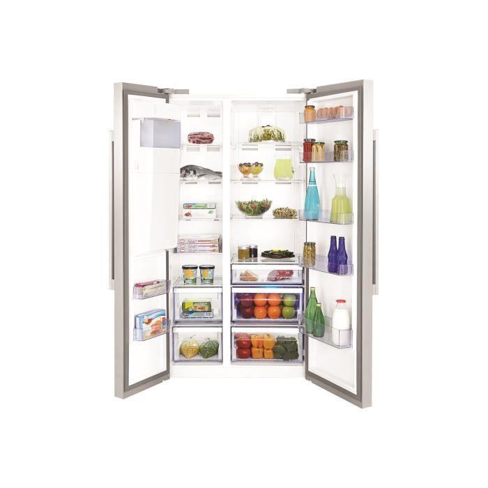 Réfrigérateur congélateur haut Beko - Achat / Vente pas cher ...