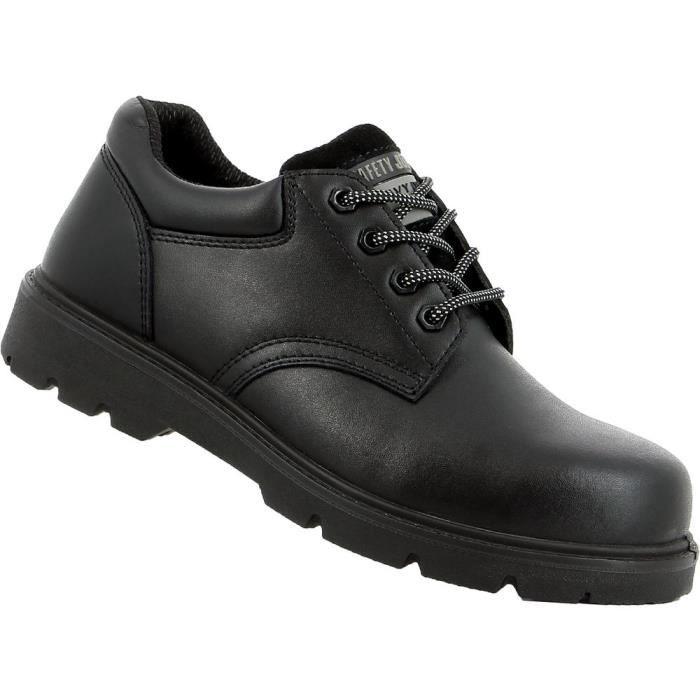cb2b1de0c2b1 Chaussures de sécurité basses Safety Jogger X1110 S3 SRC 100% non  métalliques - Noir